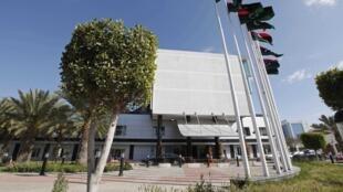 Le siège du Premier ministre libyen, à Tripoli.
