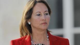 Ségolène Royal après sa défaite aux législatives, en juin 2012 à La Rochelle.