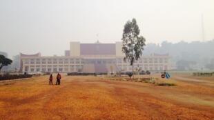 L'Assemblée nationale à Bangui, Centrafrique.