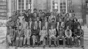 Lycée Pierre Corneille, Rouen, 1976-1977.