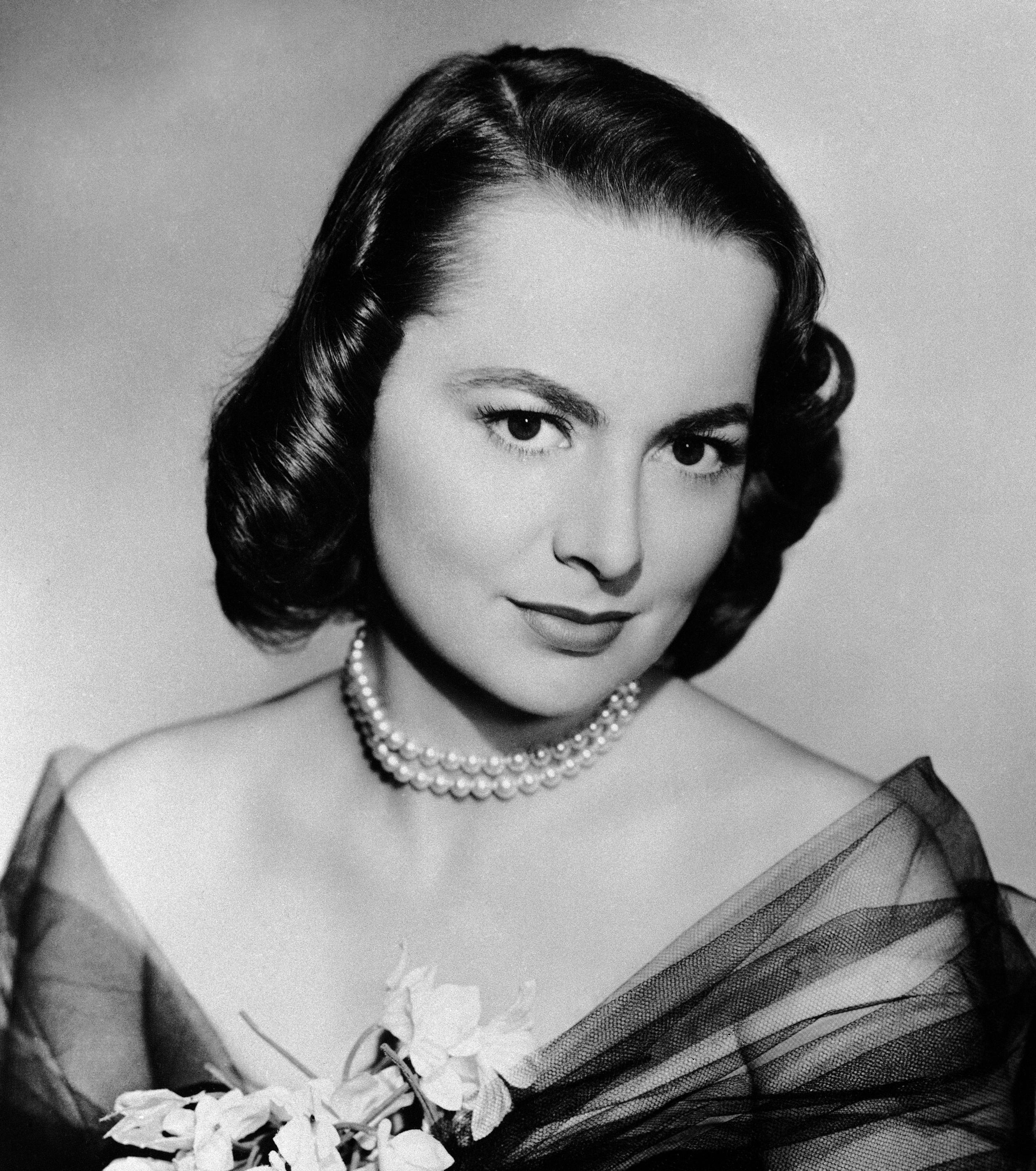 La actriz estadounidense Olivia de Havilland.