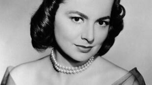 L'actrice américaine Olivia de Havilland (photo non datée).