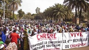 Depuis deux jours, des manifestations ont lieu à Bamako, au Mali, pour demander le départ du président de la transition.