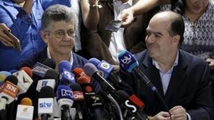 A maioria parlamentar da oposição venezuelana elegeu o deputado Henry Ramos Allup, líder do partido Ação Democrática, para presidir a nova Assembleia Nacional.