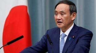 日本新首相菅义伟 资料照片