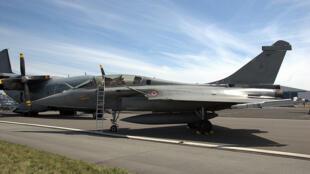 O caça Rafale da Dassault.
