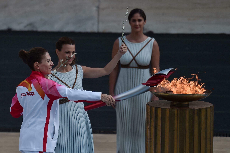 Tocha jogos olímpicos China