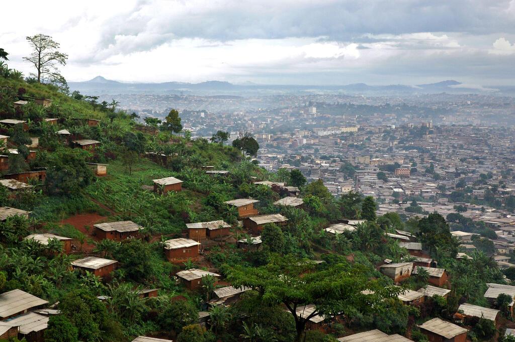 Yaoundé, la ville aux sept collines, capitale politique du Cameroun.