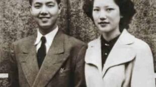 巫宁坤及其妻子李怡楷(年代不详)