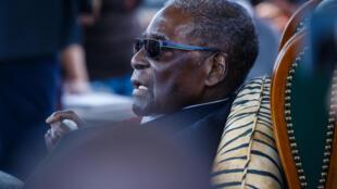 L'ancien président du Zimbabwe Robert Mugabe, en juillet 2018.