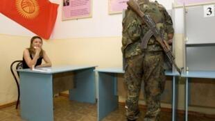 نیروهای نظامی روز جمعه به پای صندوق های رأی رفتند