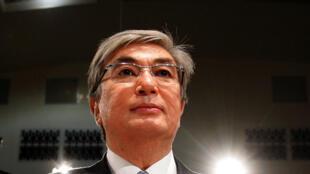 Кандидат отправящей партии «Нур Отан» иныне действующий президент Касым-Жомарт Токаев