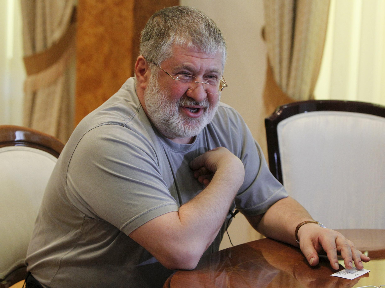Tỷ phú Kolomoisky, nguyên thống đốc Dnipropetrovsk.