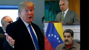 Além da luta contra o protecionismo de Trump, 2018 na América Latina será marcado pela crise política no Brasil e na Venezuela
