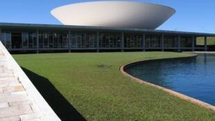 Congrès National du Brésil, Brasilia.