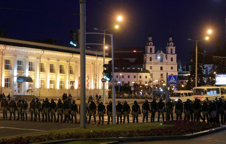 10 августа 2020, Минск.