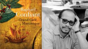 La couverture du livre de Raphaël Confiant «Grand café Martinique», paru chez Mercure de France.