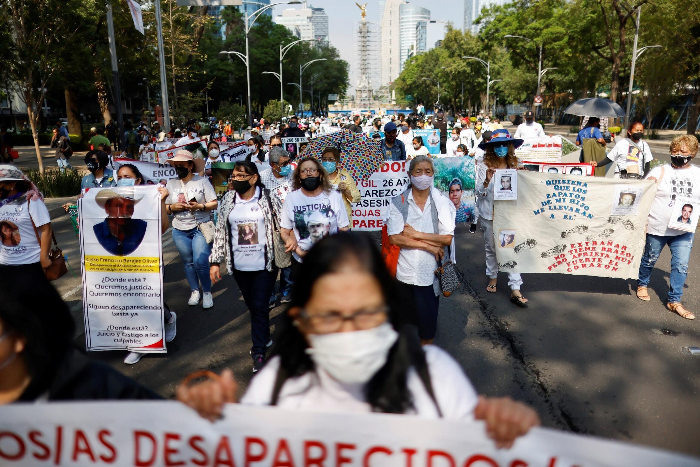 Marche des mères disparus Mexique