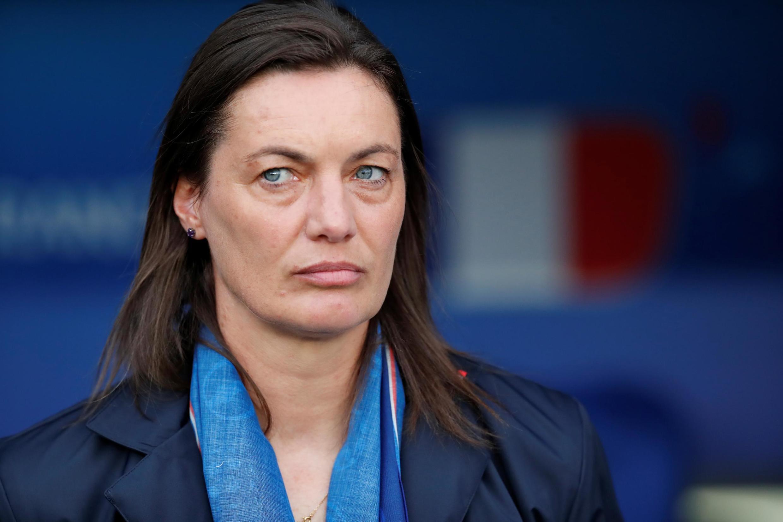 Corinne Diacre, la sélectionneure de l'équipe de France féminine de football.