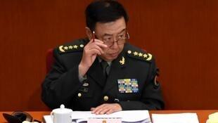 圖為中國中央軍委副主席範長龍會議照