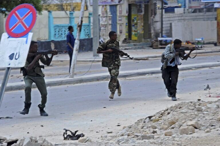 Les soldats somaliens, ici en intervention en juin 2016, font très souvent face à des retards de versement de leur salaire.