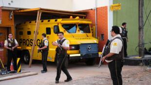 Unos 50 pistoleros asaltaron la sede de la empresa Prosegur en Ciudad del Este, Paraguay.