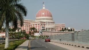 Parlamento de Angola em Luanda. 5 de Junho de 2016.