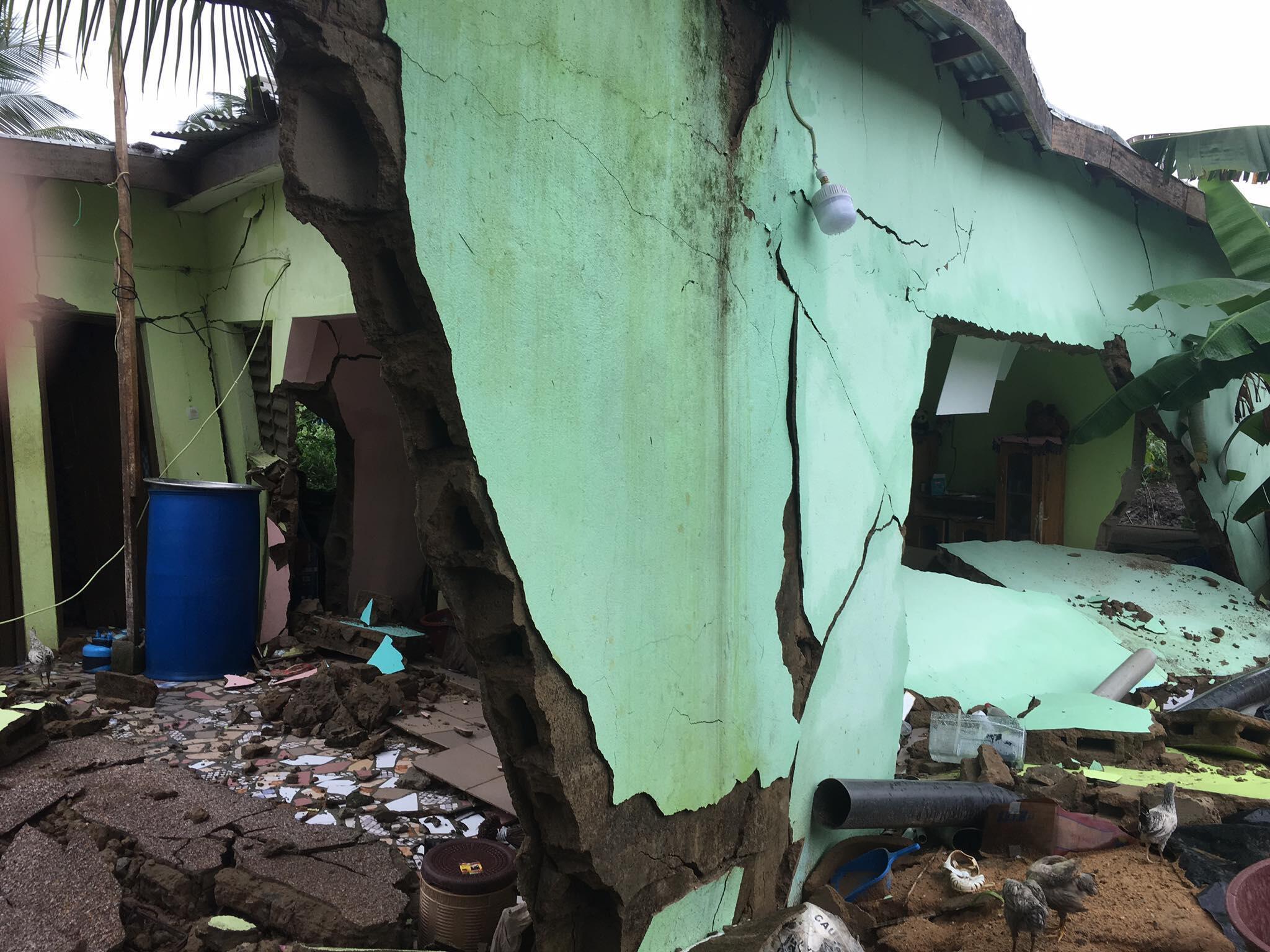 Un glissement de terrain était déjà survenu le jeudi 18 juin 2020 à Anyama, commune du nord d'Abidjan.