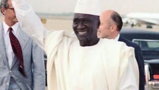 L'ancien président guinéen Sékou Touré, mort il y a 30 ans, le 26 mars 1984.