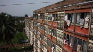 La cité rouge à Abidjan