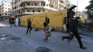 Hình ảnh về một cuộc nội chiến kéo dài ở Syria.