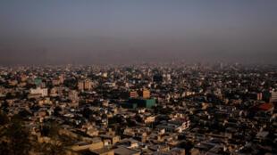 Une vue générale de Kaboul, la capitale afghane, le 15 juillet 2018.