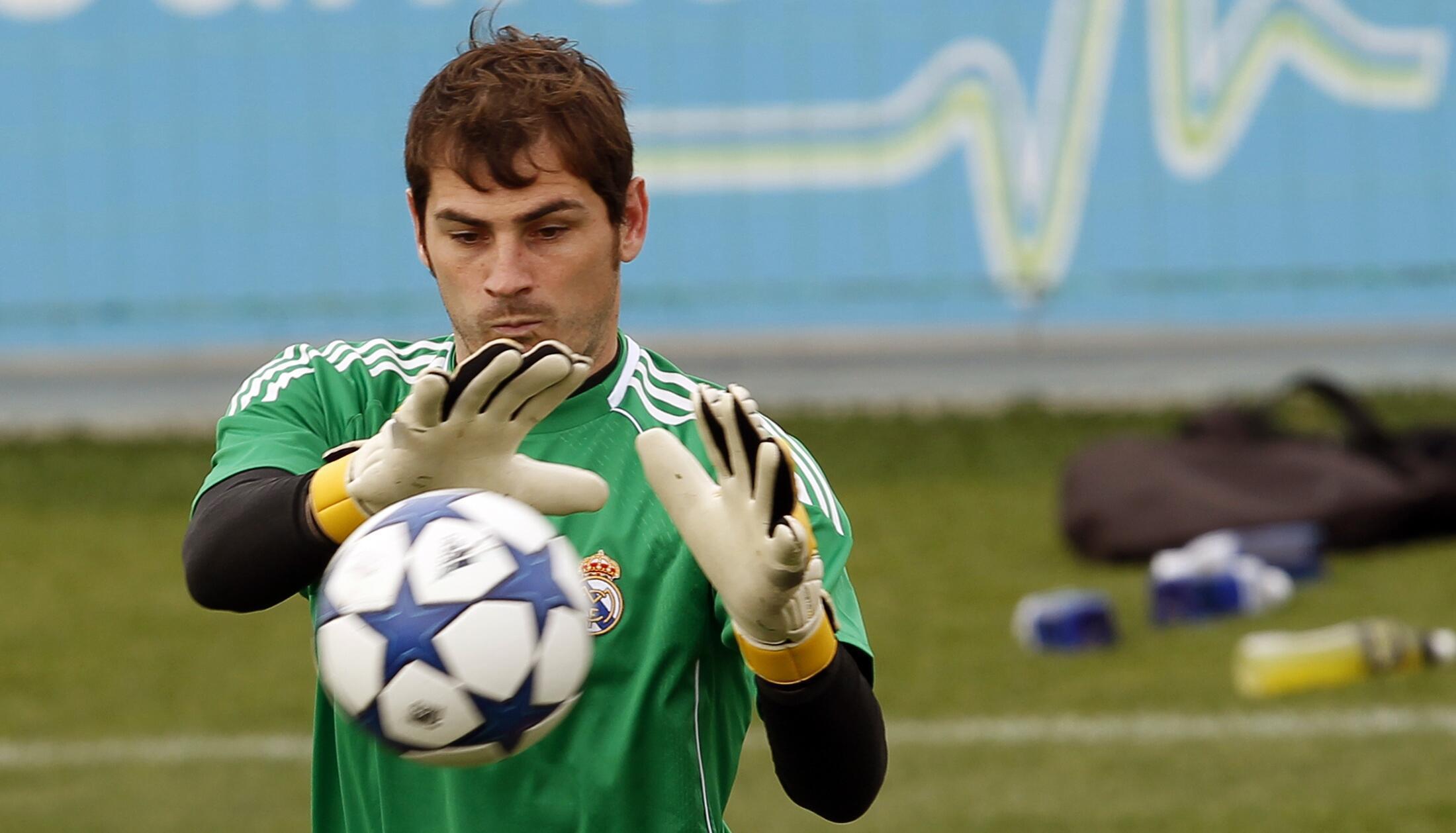 O goleiro do Real Madrid, Iker Casillas