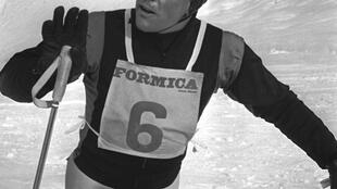 Jean Vuarnet in February 1960