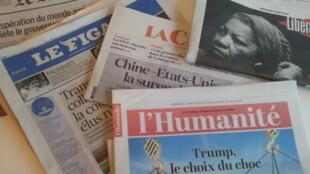 Primeiras páginas dos jornais franceses 7 de agosto de 2019