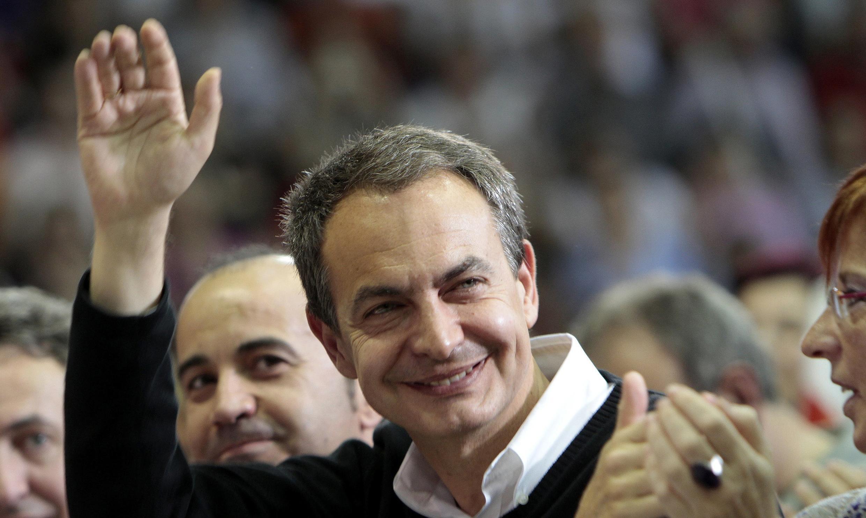 O premiê espanhol, José Luis Rodriguez Zapatero.