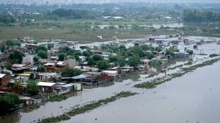 Inundaciones de 2013 en Buenos Aires y sus alrededores.