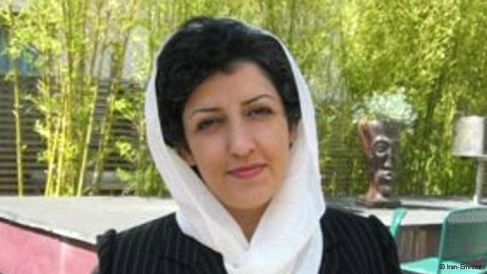 نرگس محمدی، روزنامهنگار و نایب رئیس کانون مدافعان حقوق بشر ایران