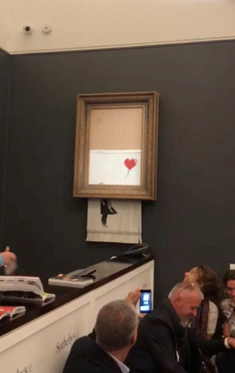 Участники арт-рынка назвали акцию Бэнкси величайшим пранком в истории