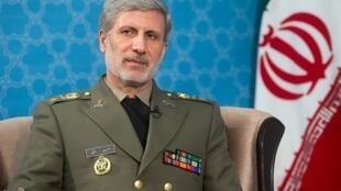 سرتیپ امیر حاتمی وزیر دفاع و پشتیبانی نیروهای مسلح
