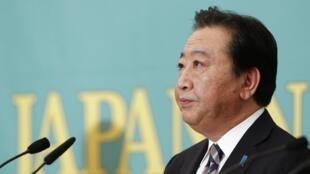 O primeiro-ministro Yoshihiko Noda, do Partido Democrático Japonês.