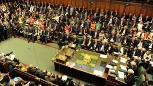 Thủ tướng Anh Theresa May phát phiểu tại Quốc Hội, 20/07/2016.
