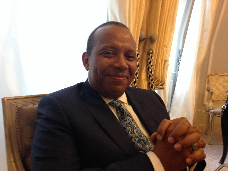 Patrice Trovoada, ex primeiro-ministro são-tomense, líder da ADI.