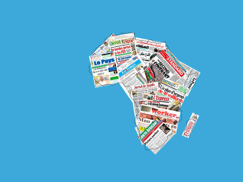 Illustration for African press review