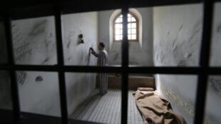 La «prison de Qasr» à Téhéran, transformée en musée en 2012, le 2 septembre 2014.
