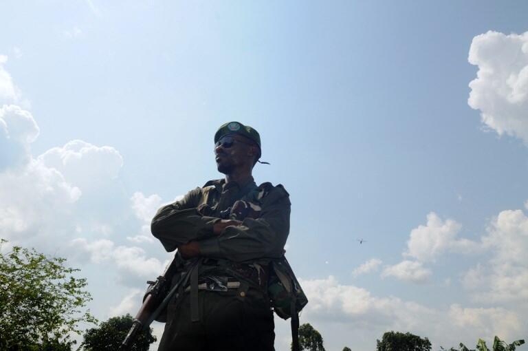 Askari wa FARDC.
