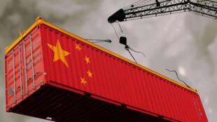 图为金融时报刊登的中国经济照片