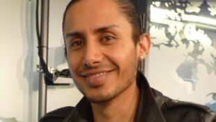 Santiago Lomellí en los estudios de RFI