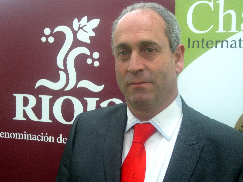 Luis Alberto Lecea en el Challenge International du Vin.