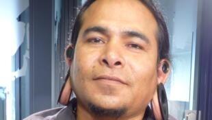 Sol Chicoacen Alcatzin enlos estudios de RFI